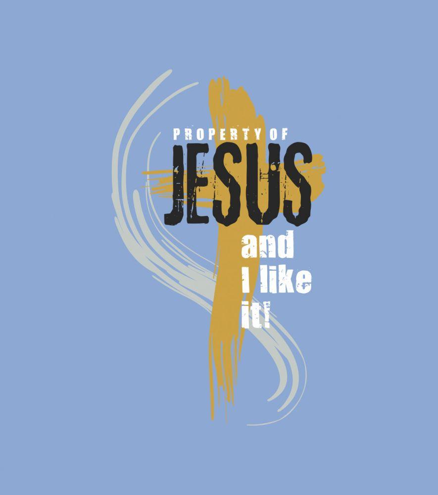 PROPERTY OF JESUS womens sleeveless (lavender)