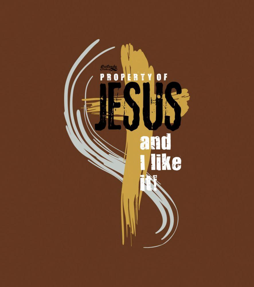 PROPERTY OF JESUS (brown)