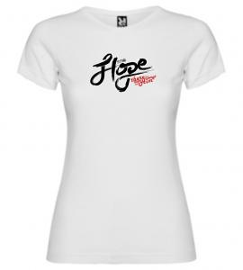 HOPE IN HIM womens (white)