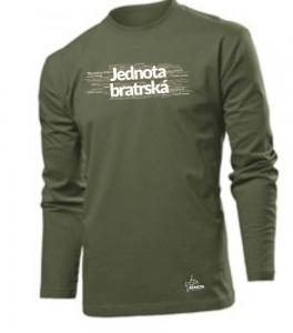 MORAVIAN CHURCH CZ (long sleeve khaki)